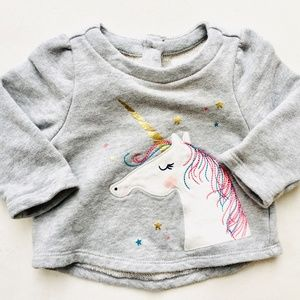 Baby Gap Unicorn Sweatshirt